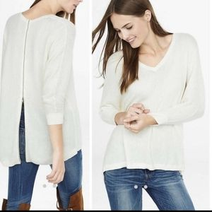 NWT Express High Low Textured Sweater